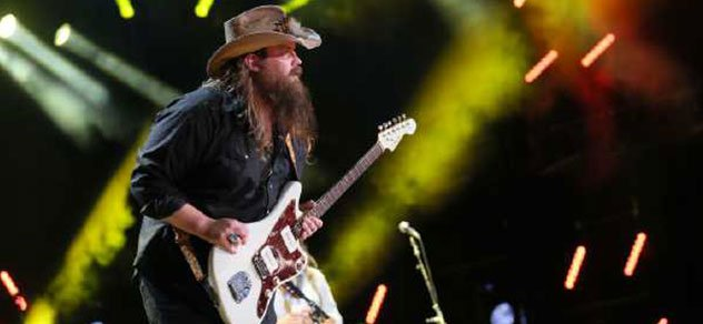 Chris Stapleton at the CMA Music Festival