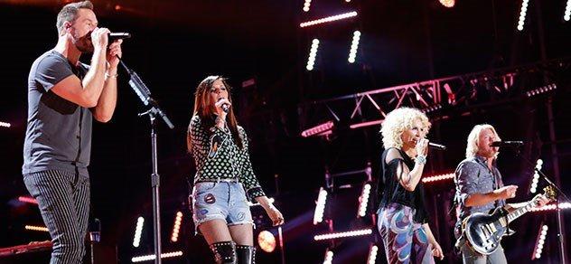 Little Big Town on stage.