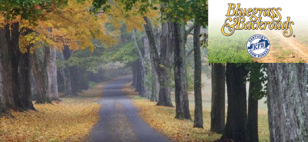 Get an exclusive TV experience and tour the backroads of KY w Bluegrass & Backroads.