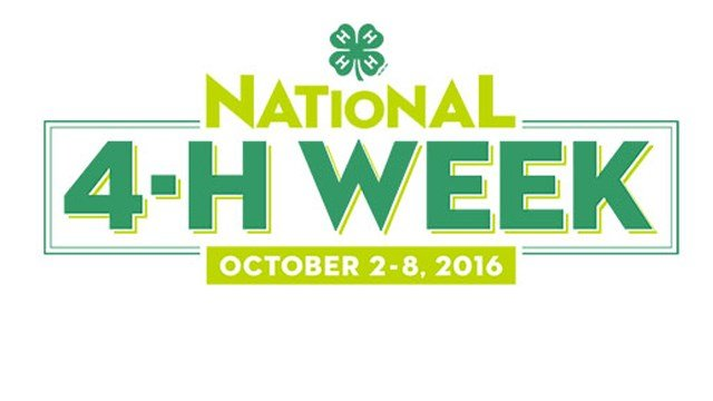 National 4-H Week 2016