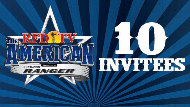 10 Invitees – RFD-TV'S THE AMERICAN presented by Polaris RANGER®