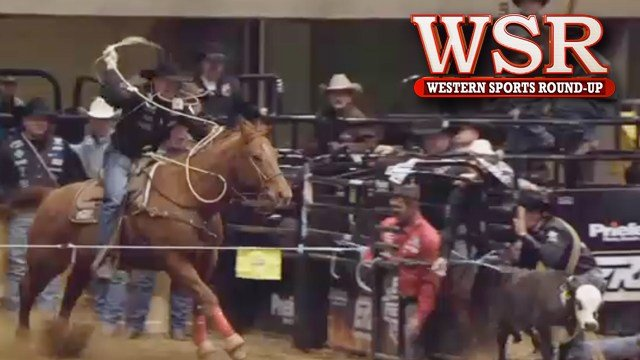 3-time all-around AMERICAN champion Trevor Brazile in action.