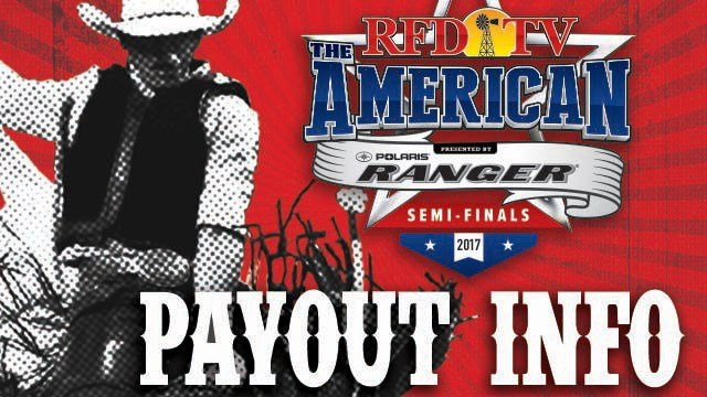 THE AMERICAN Semi-Finals Payout