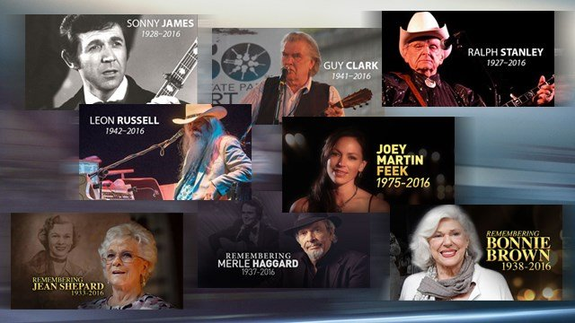 Country music stars we lost in 2016