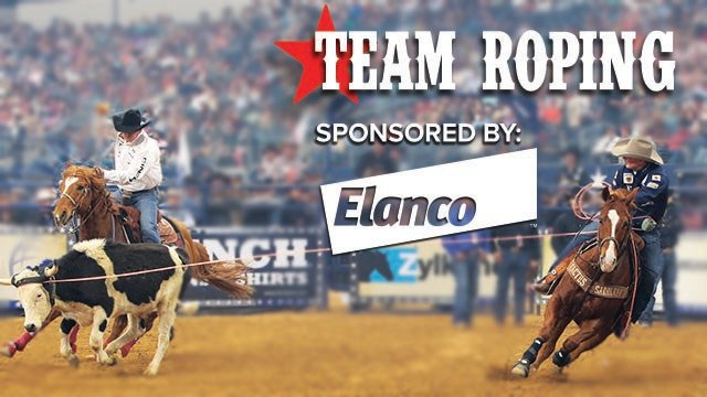 Team Roping at THE AMERICAN