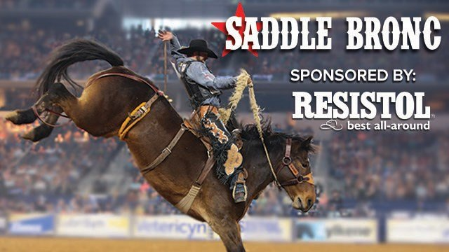 Saddle Bronc sponsored by Resistol