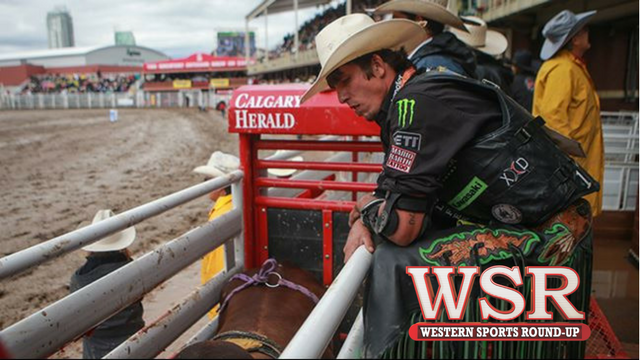 Get the muddy highlights from The Calgary Stampede.