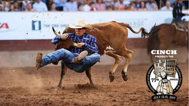 Matt West has the highlights from the rodeo with 77 years of history.