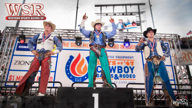 The Days of '47 Cowboy Games and Rodeo wrapped up Monday night with the champions being crowned.