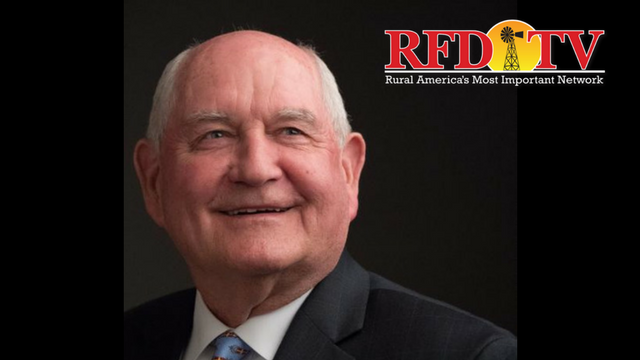 Ag Secretary, Sonny Perdue, hits the road tomorrow for a 5-state Farm Bill tour.