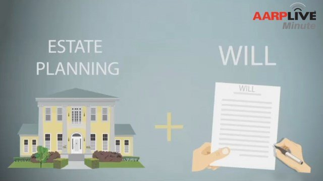 AARP Live Minute: Estate Planning and Wills