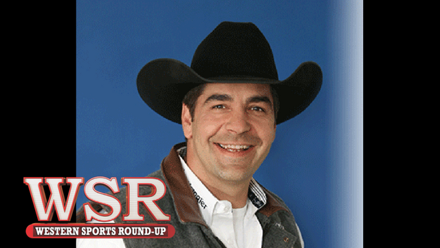 Boyd Polhamus, 4 time Announcer of the Year, and Announcer of the Dodge City Roundup Rodeo for 20 years.