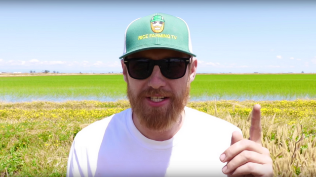 Rice Farming TV's Matthew Sligar
