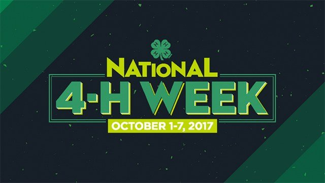 National 4-H Week 2017