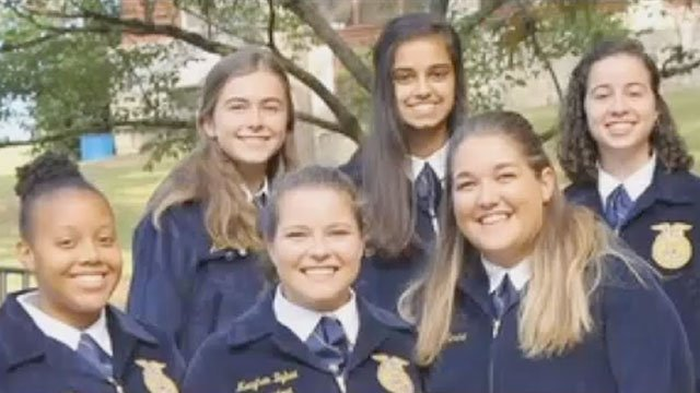 Members of Cambridge, GA FFA Chapter