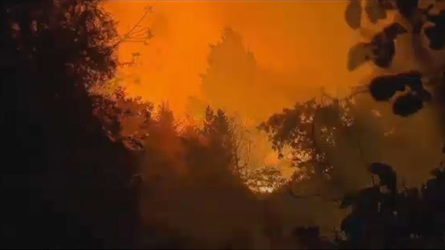 Wildfires are devastating portions of California.