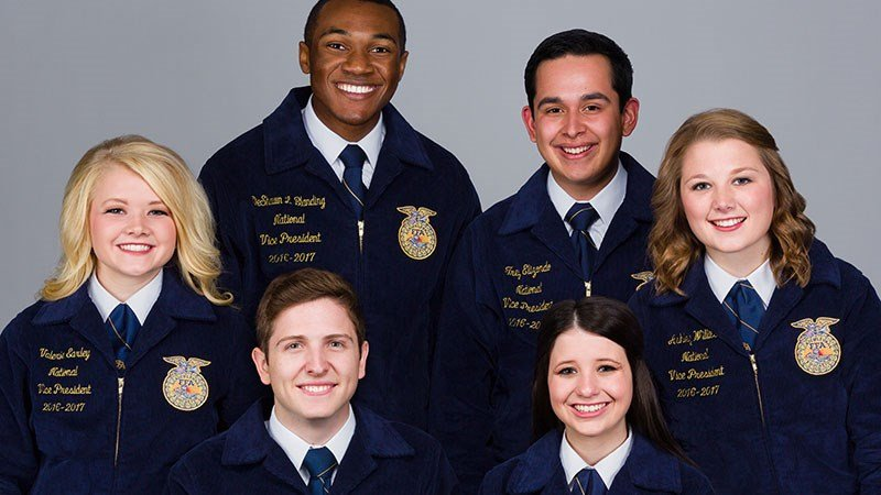 National FFA Officers, 2106–2017