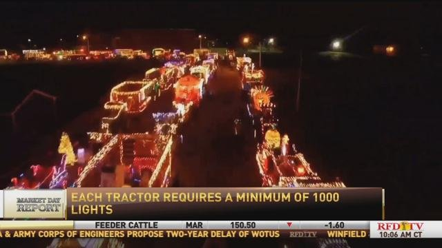 Greenwich Lighted Tractor Parade