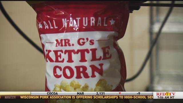 Mr. G's Kettle Corn based in KY