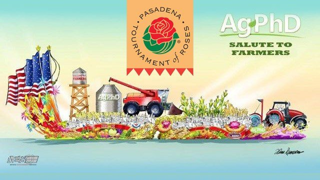 AgPhD Rose Parade Float