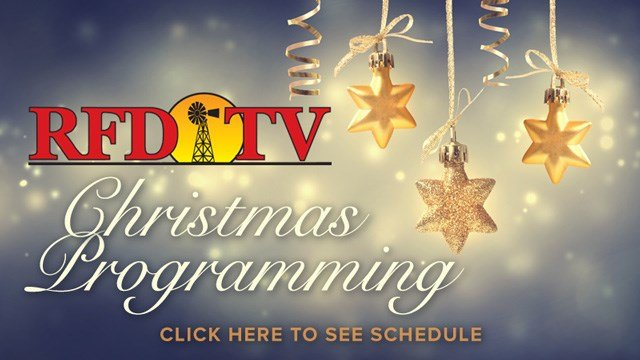 Christmas Programming from RFD-TV