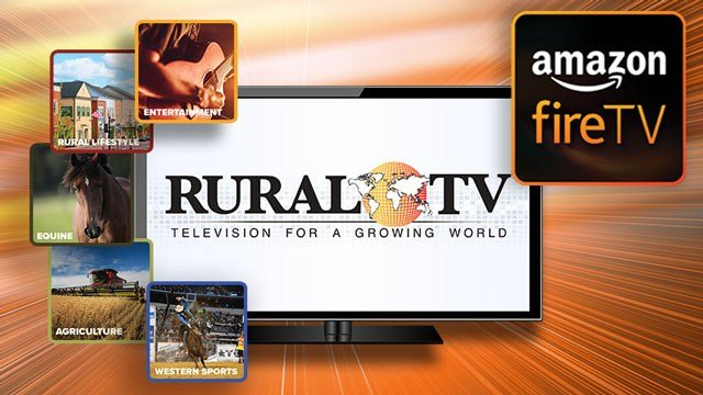 RuralTV on Amazon fireTV