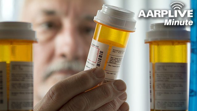 AARP Live Minute: Prescription Meds