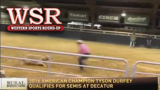 Tyson Durfey qualifies for RFD-TV's the American