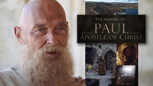 "The Making of ""Paul: Apostle of Christ"""
