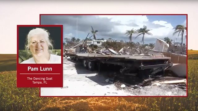 FarmHer Pam Lunn talks about her experience riding out Hurricane Irma.