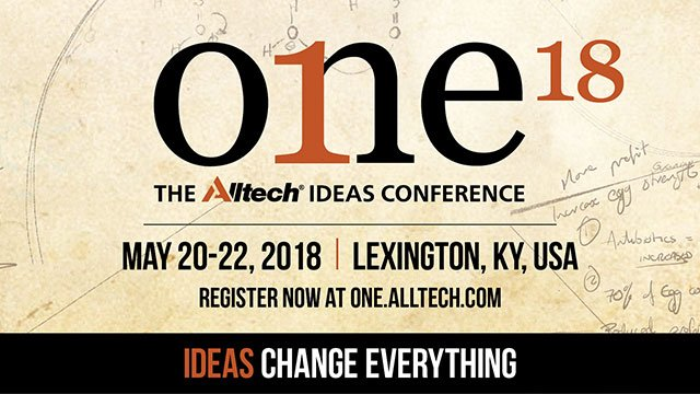 ONE18: The 2018 Alltech Ideas Conference