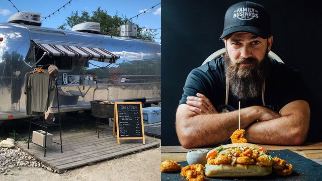 Jep's Southern Roots food trailer