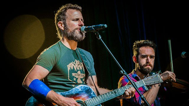 Dierks Bentley and band perform at the 2018 CMA Fest