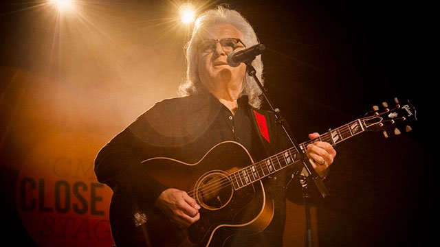 Ricky Skaggs performs at the 2018 CMA Fest
