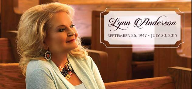 Country singer Lynn Anderson.