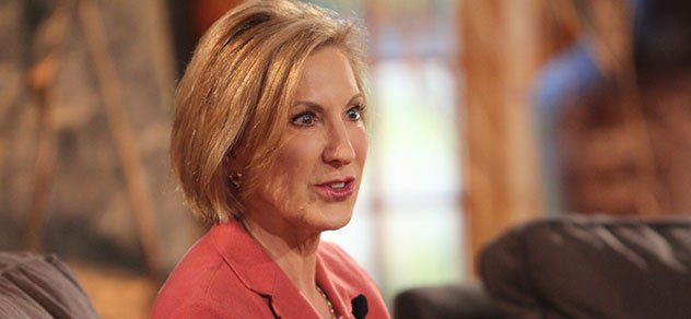Presidential Candidate Carly Fiorina