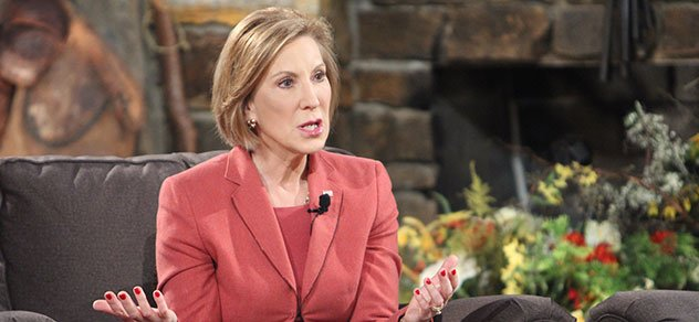 Carly Fiorina Appears on Rural Town Hall