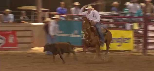 Tie Down Ropers at WNFR