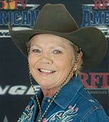 Mary Smothers - barrel racing headshot