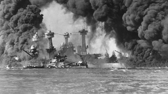 a history of dropping a bomb on pearl harbor by japan How and why did the foreign policy of the usa change between 1929 and 1945 it had no power to force japan not to leave pearl harbor dropping the atomic bomb.