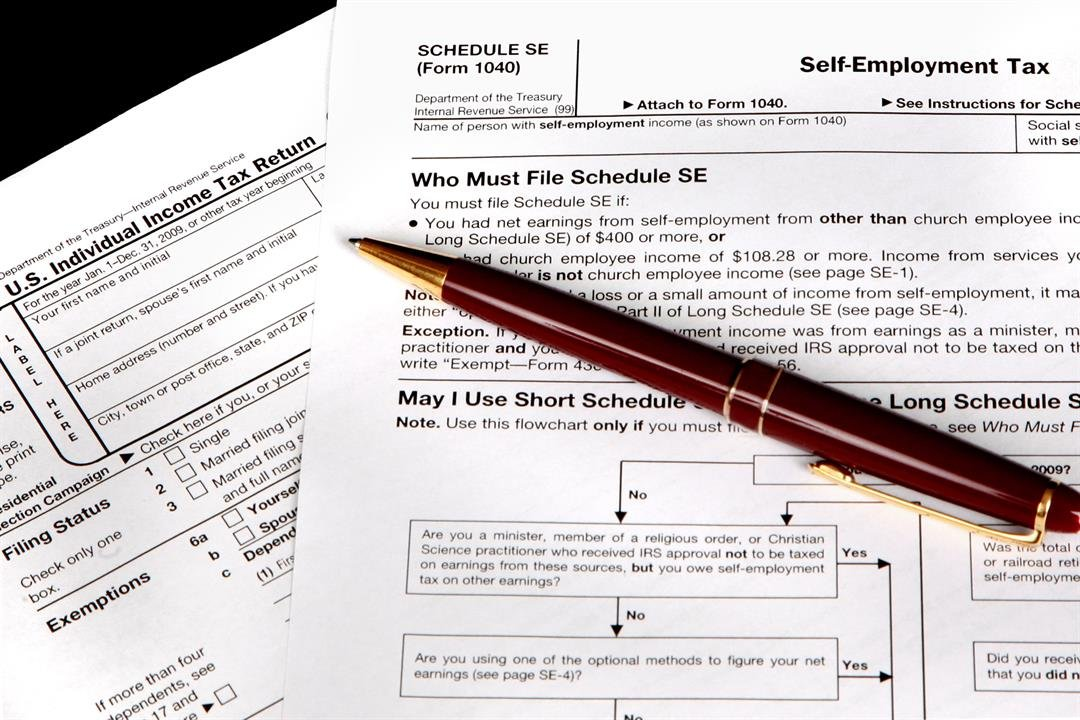 Roger McEowen Impacts of Tax Reform – Self Employment Tax Form