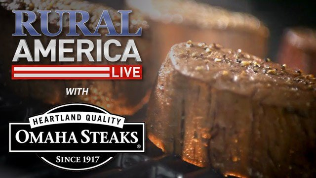 join us for a special christmas rural america live with omaha steaks well be taking your questions live on air and giving away discount coupons to
