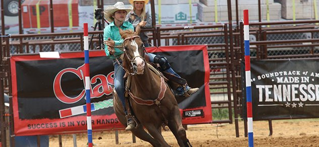 Students compete at the NHSRA Jr. High Rodeo