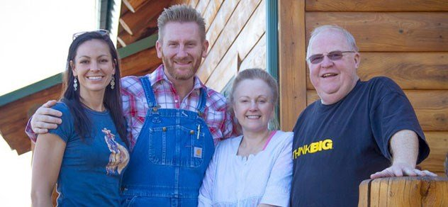 Joey and Rory Feek with Luann and Larry Black