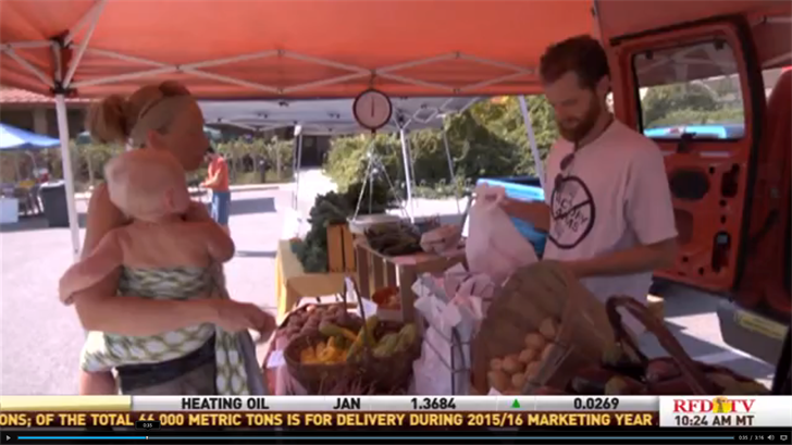 Farmer's Markets are a great way to get fresh produce.