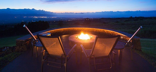 As the nights get cool, there are few things as relaxing as sitting around a fire.