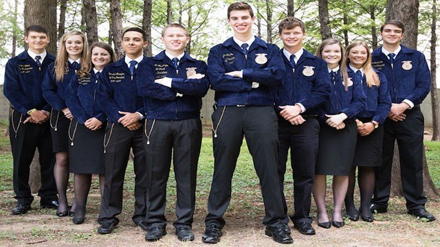 Texas FFA State Officers