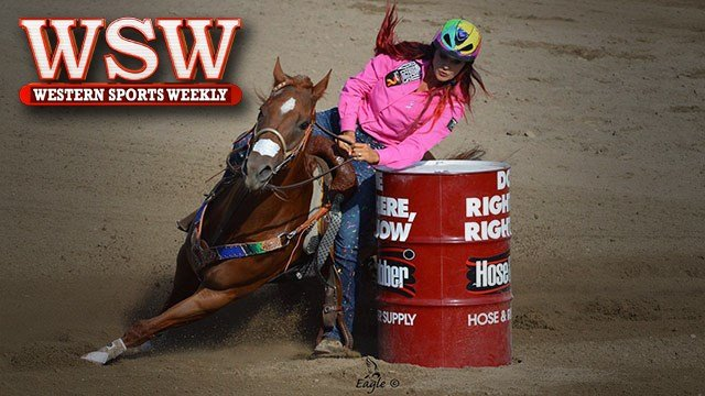 Barrel racer Fallon Taylor