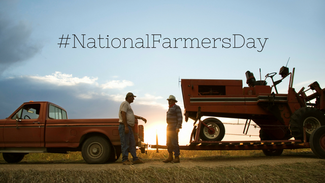 #NationalFarmersDay