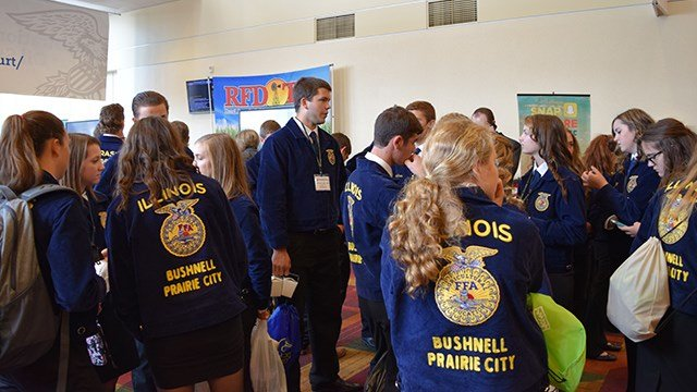 FFA members at the RFD-TV Booth